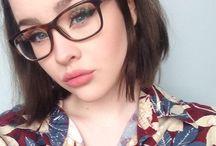 μακιγιαζ με γυαλιά