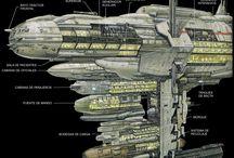 Star Wars starships