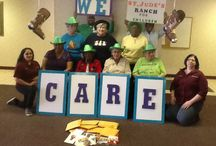 The Lima Towers CARES! / The Lima Towers volunteered for St. Jude's Ranch for Children and created a Recycle Card Program.