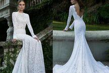 Estilo noiva / Inspiração para vestidos de noiva.