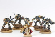 Chief Slave's Minis / Check out these minis ... painted by our very own Chief Slave!