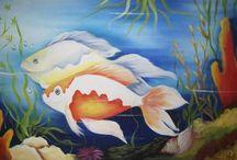 telas de peixes