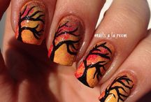Fall Nails / by Julie Corsby