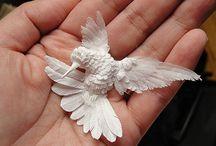 papieren vogel