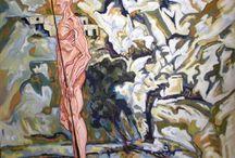 george pastakas paintings / paintings by the artist George Pastakas