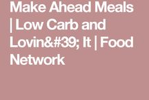 Make ahead low carb
