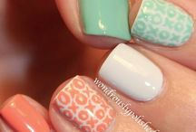Nail ideas for Emily / by Amy Brownell-Heim