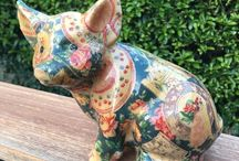 Joan Baker Patch work PIG