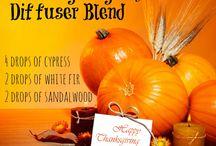 Essential oils / thanksgiving blend