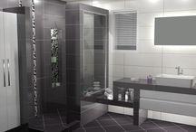 ΑΠΟΛΑΥΣΤΕ ΤΙΣ ΑΙΣΘΗΣΕΙΣ ΣΑΣ / Σχεδιαστική πρόταση με φωτορεαλιστική απεικόνιση, για την κατασκευή ενός μπάνιου σε μονοκατοικία στο Πολύκατρο Κιλκίς. Το concept βασίστηκε στα πλακάκια από την σειρά Visia τα οποία έχουν διάσταση 25 x 70 cm και παρουσιάζουν extra High Gloss επιφάνεια.