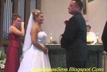 Funny Wedding videos / We all need to laugh, have fun and enjoy life.  Remember if something went wrong that day, there is always someone else who had a worse experience.  / by Foster-Stephens, Inc.