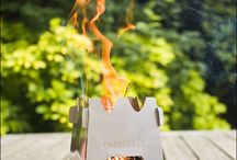 Camping & Fireplaces / All usefull Ideas about Outdoor Living.