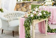 You're my sweetheart: Bride & Groom Table Inspiration