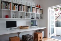 Study/office space / Ideas for compact spaces for a future study or office.