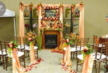 Wedding Expo Booth Ideas / Different ideas on how to make your booth stand out at a wedding show/expo.
