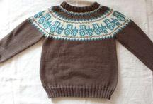 Baby/barn strikk