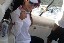 Fishing  / pesca en el caribe mexicano