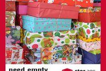 Santa shoebox