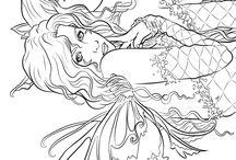 Gothic & Fantasy Coloring