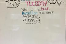 Creative Whiteboard Morning Messages ✏️