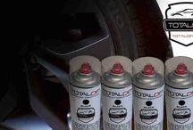 Plasti Total Dip su cerchi / Raccolta di lavori eseguiti con TotalDip , Plastidip , e liquid wrap in genere su cerchi in lega