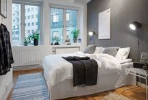 Scandinavian style / Scandinavian style bedroom, kitchen, living room
