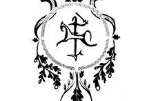 Baltic pattern tattoo