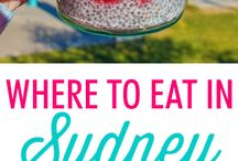Sydney Eats / Nom nom! The best places to eat in Sydney, so many mouth watering establishments!