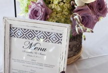 Wedding, dinner