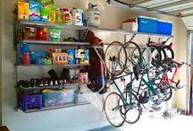 Home - garage storage ideas  / by Erin Bard