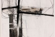 Abstractions / Scribbled and calligraphic lines