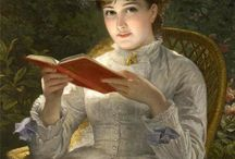 Women reading books