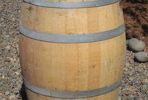 Wedding Ideas / Wine Barrels for Decorations