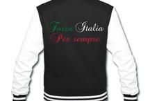 tee shirt Forza italia Per sempre / http://legiux.spreadshirt.fr/forza-italia-per-sempre-I15471533