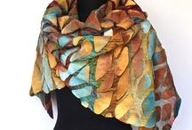 шарфы, палантины