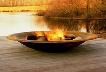 Firepits / Adding a firepit to your garden design lengthens your season in the garden. why not winter BBQs in colder climes?! / by The Outdoor Muse