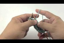 Knitting: How To / Learning and practicing. Wow, I can actually knit!