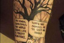 Calvin & Hobbes Tattooo ideas