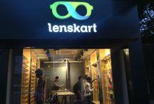 Mangalore Store / Glimpses of the stylish #Lenskart Store in #Mangalore