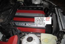 BMW Mpower Cylinders head ornament style S50 S52 for M50 M52 M54. and style S14 for M42 M44 / Cylinders head ornament engraved BMW MPOWER style S50 S52 M3 US and S14 style for M42 M44 , which apply over the original engine cover.  Material plastic/aluminium . No decal ! Needs (black) silicone fixing .  Silicone not included.  6 cylinders - Style S50 S52 for M50, M52, M54  4 cylinders - Style S14 for M42 M44   E34 - engine M50 E36 - engine M50 M52 E46 - enginer M52 M54 E39 - engine M52 M54 E60/E61 - 2003-2005  520i Z3 - engine M52 M54 Z4 - engine M54 E83 X3 2.5i 2001-2006 E53 X5 3.0i