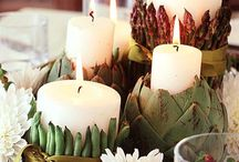 candles & decorating ideas