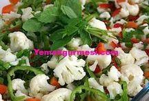 karnabahar salatasi