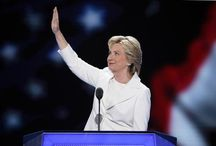 Hillary Clinton Accepts Democratic Nomination: 'When There Are No Ceilings, the Sky's the Limit'