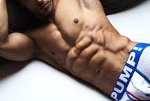 Sexy underwear models