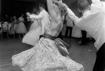 swing and salsa dancing