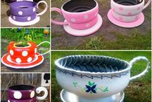 40+ Creative DIY Garden Containers and Planters from Recycled Materials 1