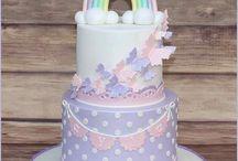 Didi's birthday cakes