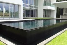Glass tile pools / Our projects with glass tiles. Come and get inspiration!