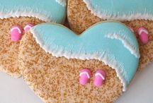 Sea cookies . So cute