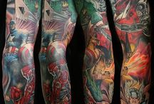 Marvel tattoos